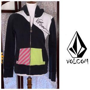 Volcom multicolored hoodie.
